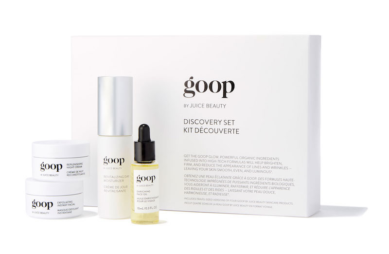 「goop by Juice Beauty」のスキンケアグッズも日本初上陸。DISCOVERY SET ¥20,196