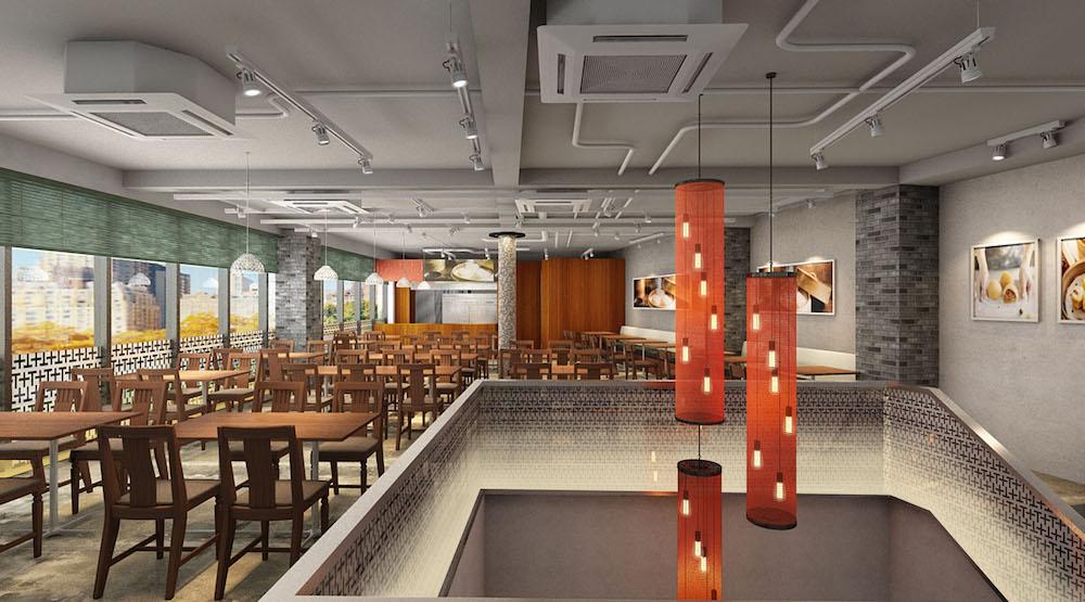 合計84席(1F:個室3部屋18席/ 2F:66席)からなる広々とした店内。