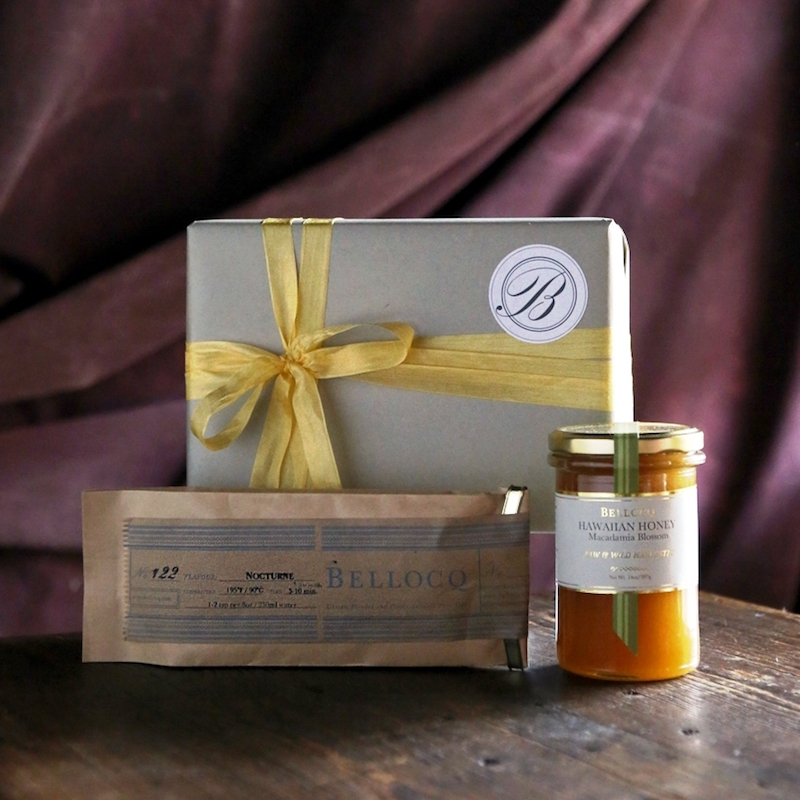 「BELLOCQ Herb Tea & Honey Gift Set」¥6,400~7,000(配送料込み)※写真はイメージ