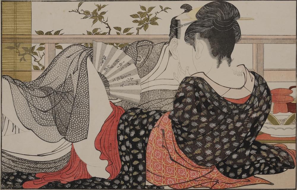 喜多川歌麿「歌まくら」 天明8年(1788) 浦上満氏蔵
