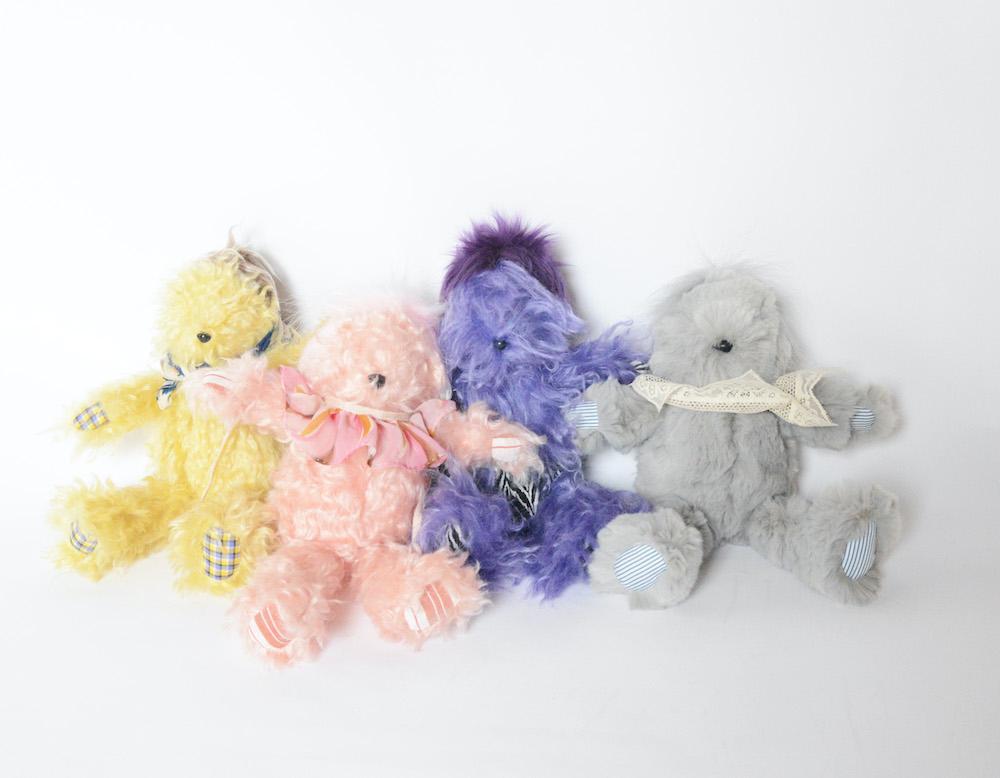アカネ ウツノミヤ「KICHIKICHI」(イエロー/ピンク/パープル/グレー)Mサイズ 各  ¥18,700