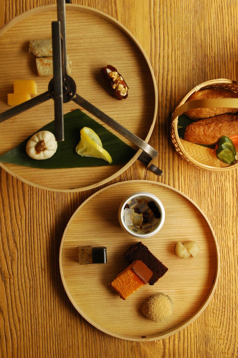 和のアフタヌーンティー「茶間食」¥4500