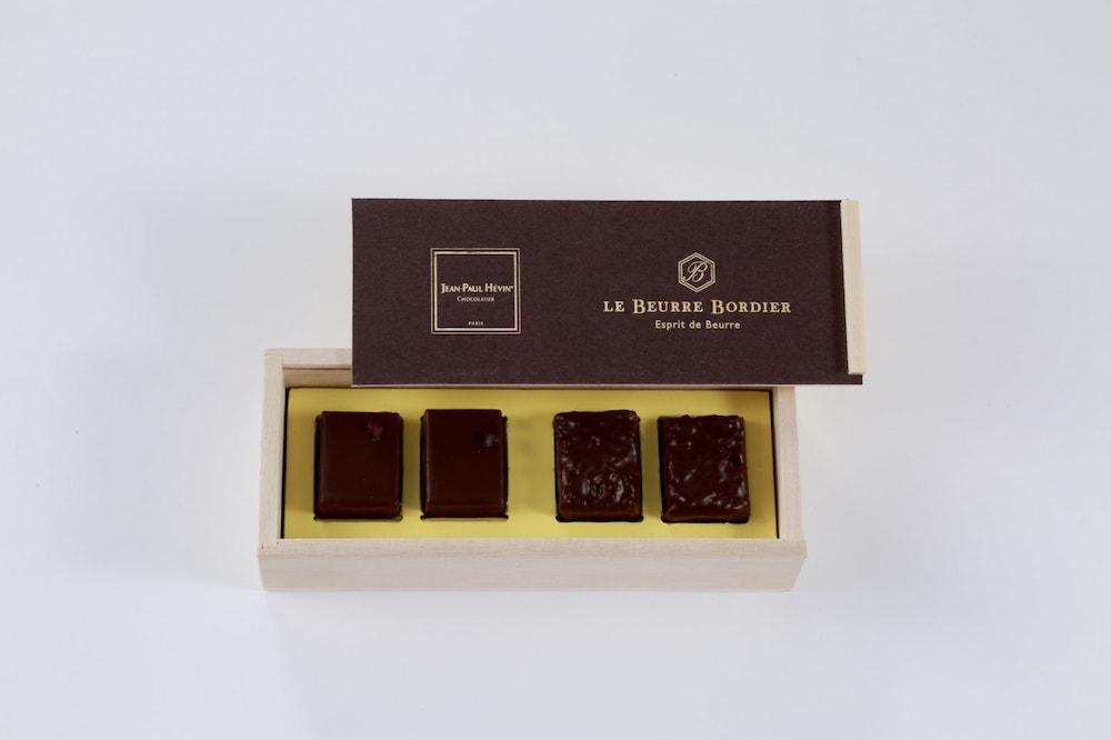 「ボワットゥ ショコラ アルティザナル パー ボルディエ」(「グリュエ」×2、「サラザン」×2)¥2,500