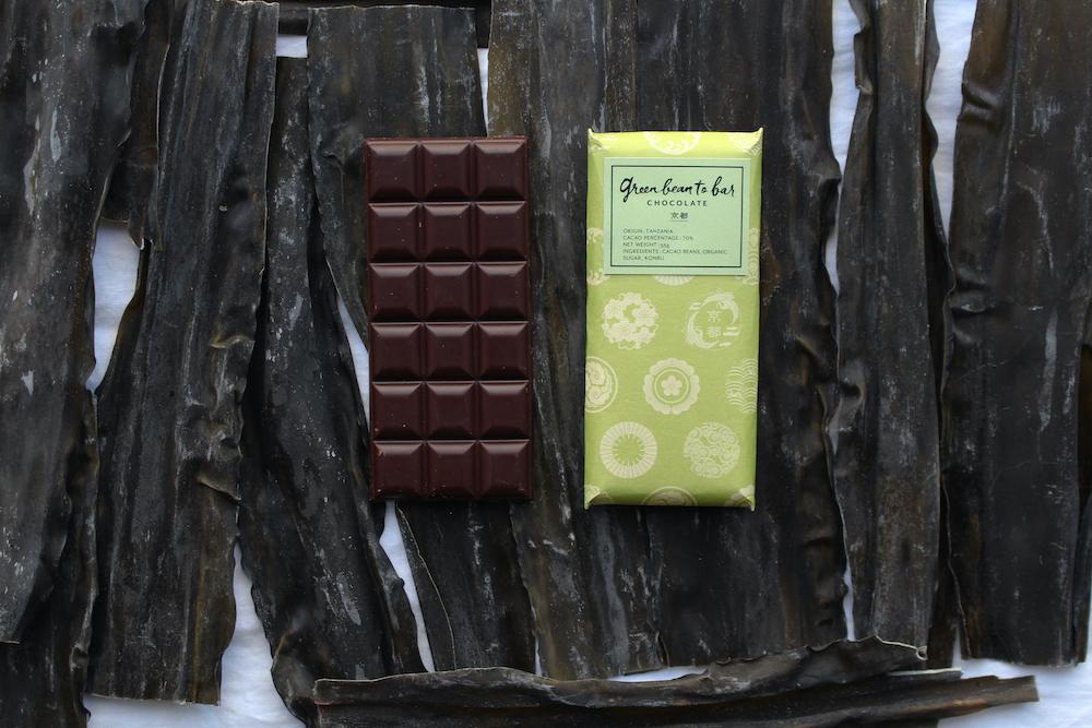 京都店限定チョコレート「昆布」¥1,800