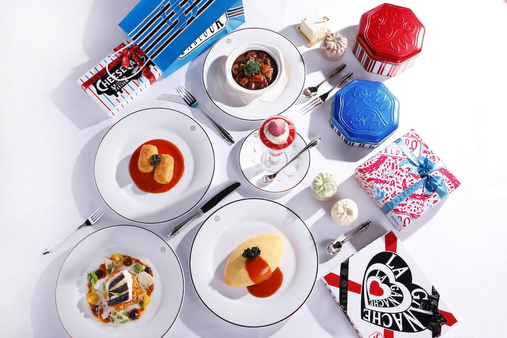 伝統の洋食から季節のデザート、手土産にぴったりのスイーツまでが揃う。