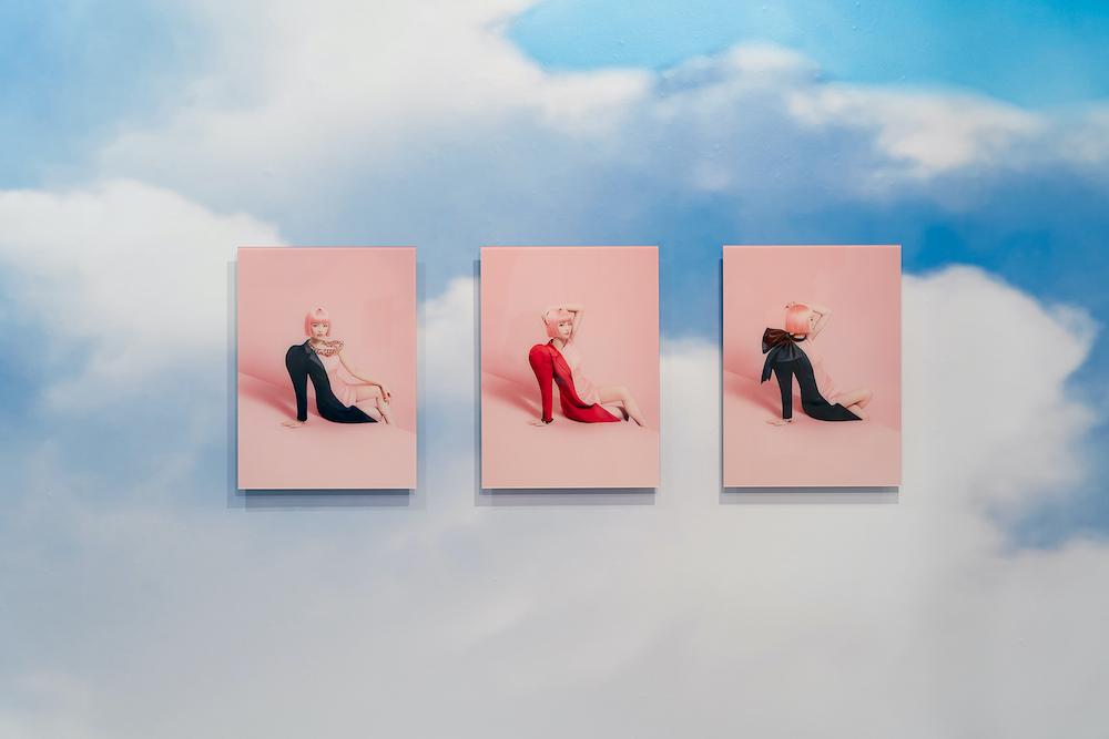 アパレルブランドの広告から星野源やCharaのアートワーク、渡辺直美のブランドのアートディレクションまで手がける吉田ユニも参加。Photo: Joshua Helius