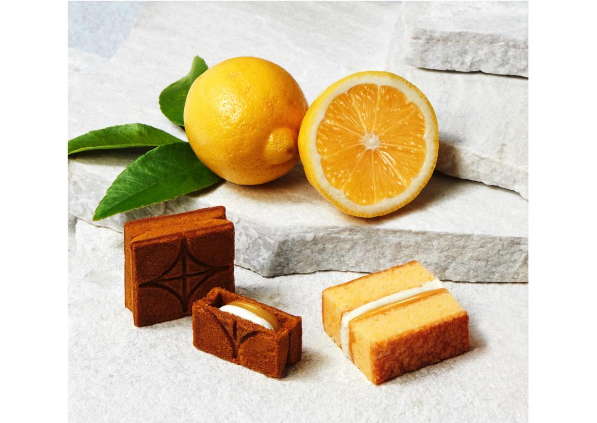PRESS BUTTER SAND「バターケーキ詰合せ〈檸檬〉」12個入(バターサンド6個/バターサンド〈檸檬〉3個/バターケーキ〈檸檬〉3個)¥3,240 ※期間限定商品 9月30日(木)まで