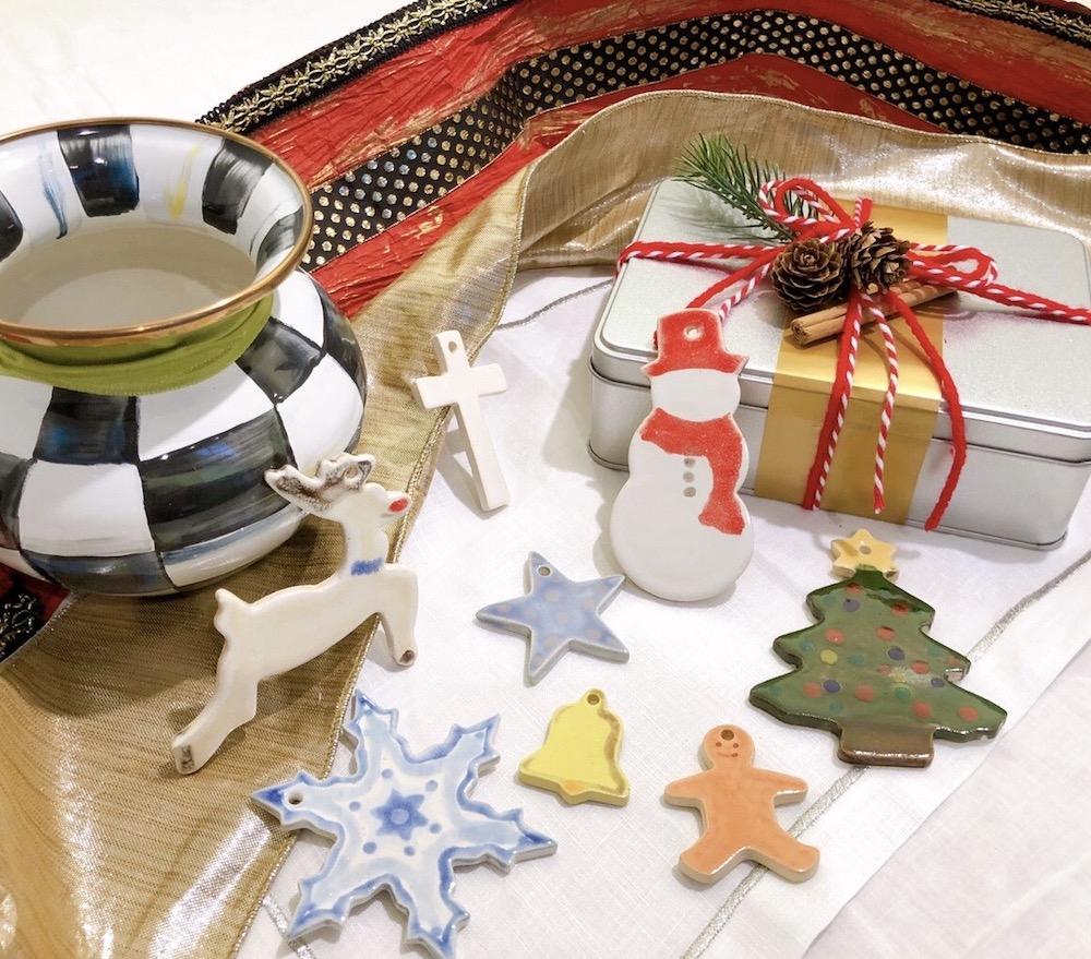 11月21日(土)には南青山の器店・陶芸教室のat kilnによるワークショップ「クッキー型で作るクリスマスオーナメント」のワークショップを開催予定。※写真はイメージ