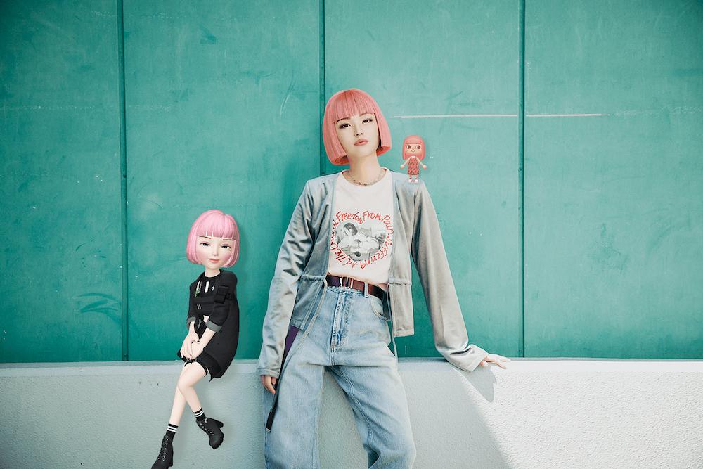 """若者の""""今""""を反映させたバーチャルヒューマンとして2018年に登場して以来、日本だけでなく海外でも活躍するimma。"""
