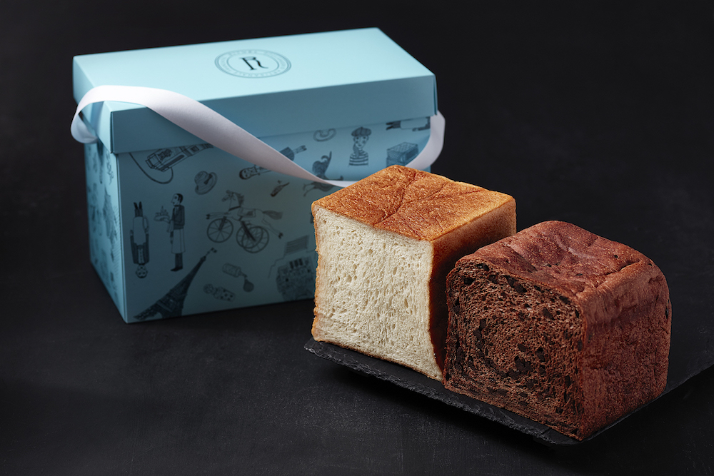 代官山店限定「ギフトアソートBOX」(「RITUEL生食パン」&「RITUEL生食パン ショコラ」)¥1500