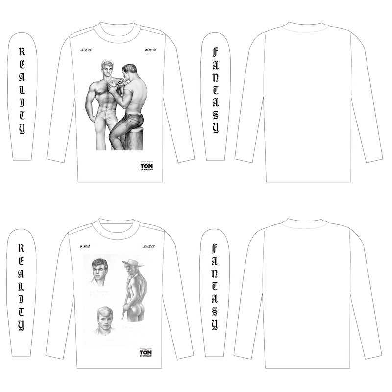 展覧会オリジナルグッズ(ロングTシャツ) ※画像はイメージ/デザインは変更となる場合あり