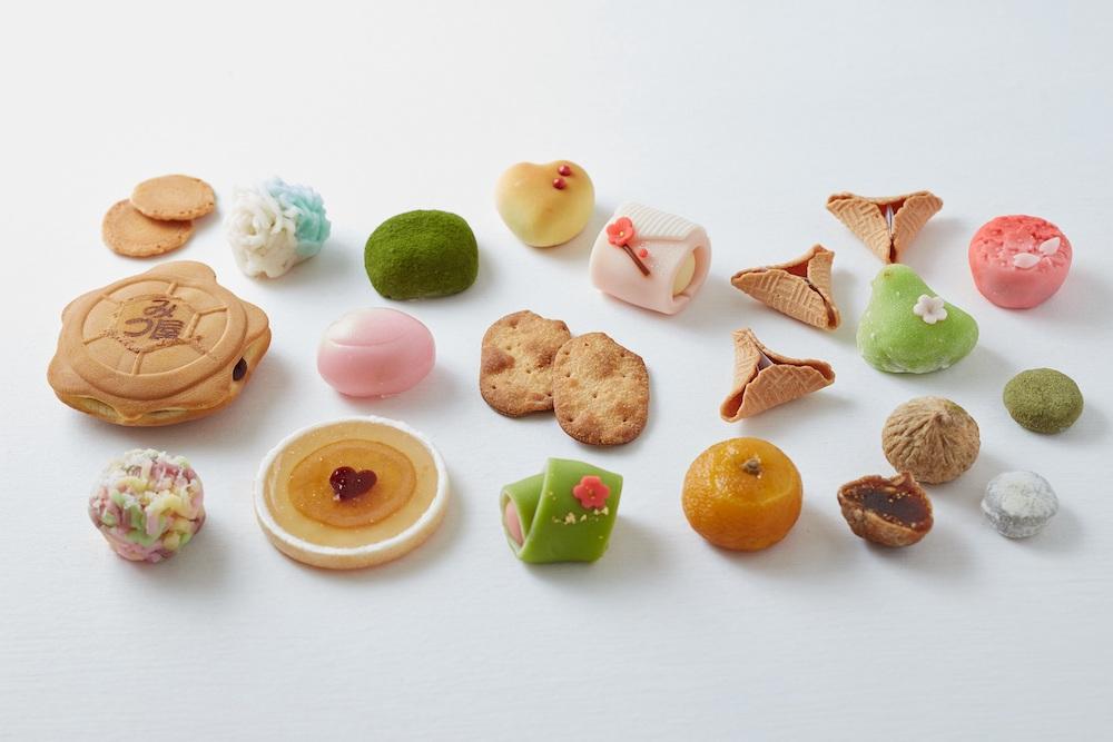 『和菓子のアン』シリーズに登場する和菓子や、アンの世界のイメージで創作された和菓子を限定販売。