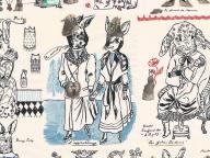 ナタリー・レテが「ウサギ・プゥ・トワ」20周年に合わせて、描き下ろし新作とともに来日!
