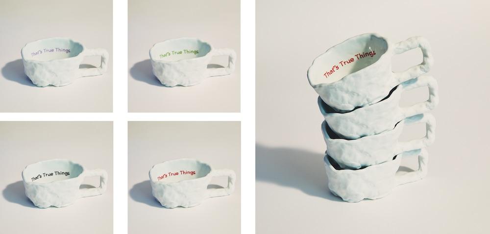 「Mad Mug」全4色 各¥12,000