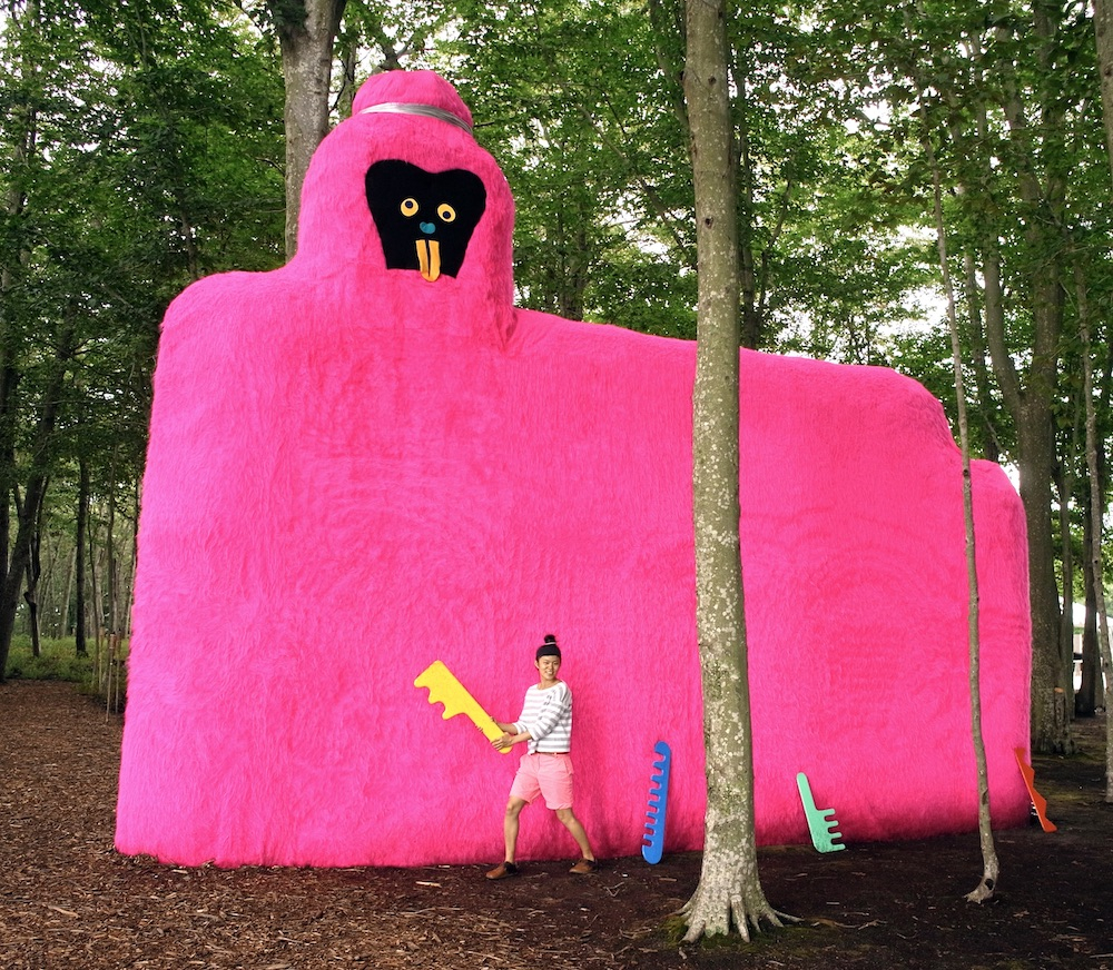 MISAKI KAWAI Arty, 2012 Installation view at The Watermill Center, NY Courtesy of the Artist and Justin Waldron