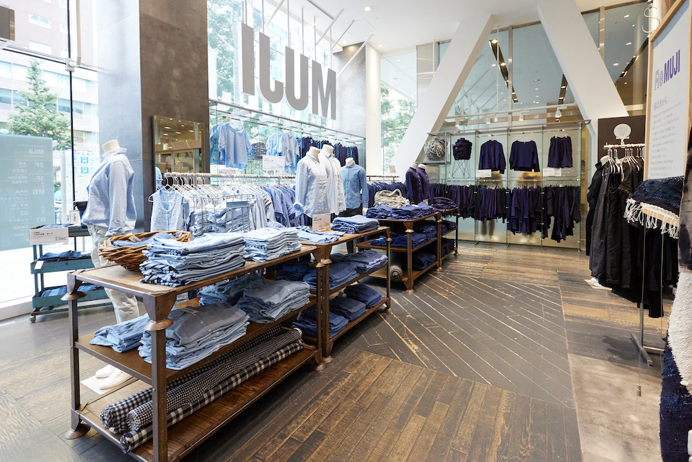 「MUJI 新宿」にオープンした、無印良品最大の「RE MUJI」コーナー。