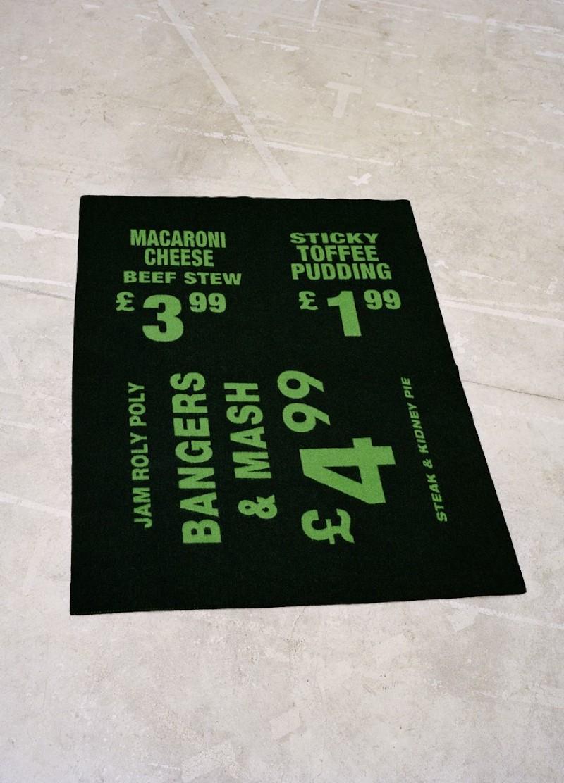 ウールブランケット(パームグリーン/パープル ※路面店限定色)W130×H180cm 各¥115,000(税抜)