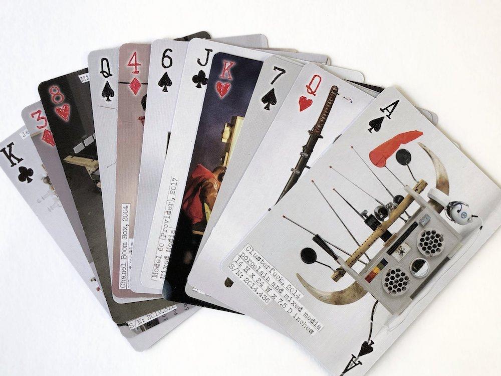 「Boombox Card Deck」¥3,400 ©Tom Sachs