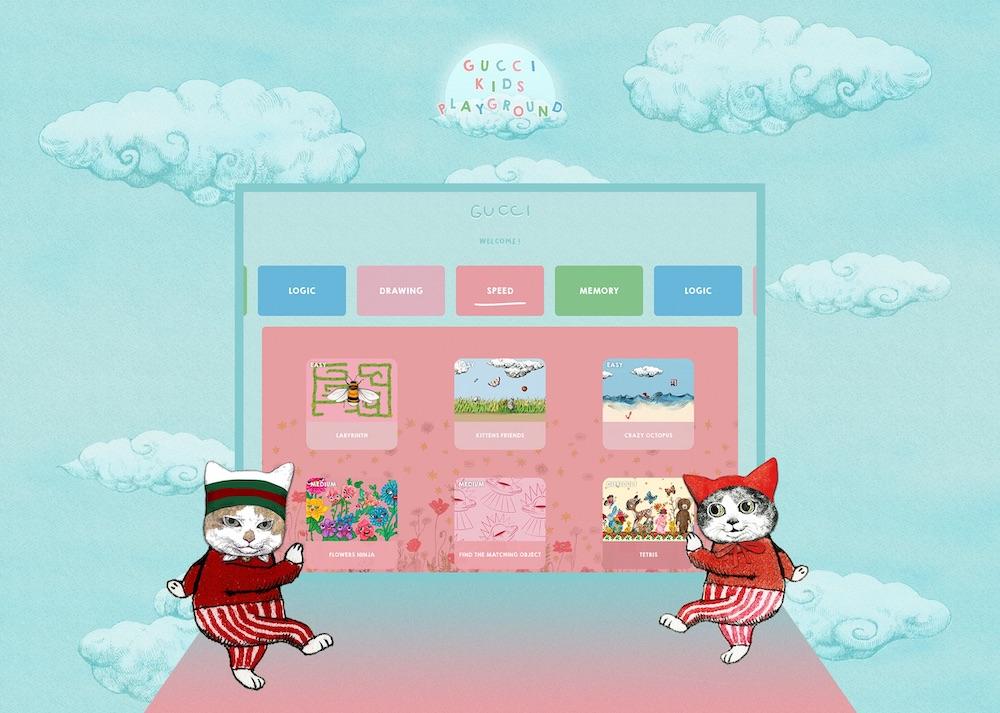 ヒグチユウコによる、擬人化された猫をはじめとしたキュートなキャラクターが活躍。カラフルな色使いも楽しい。