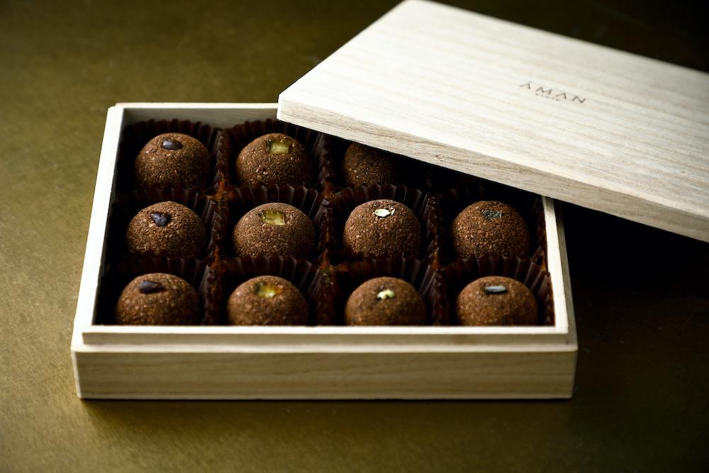 「アマン京都 トリュフチョコレート」¥5,200(税込)