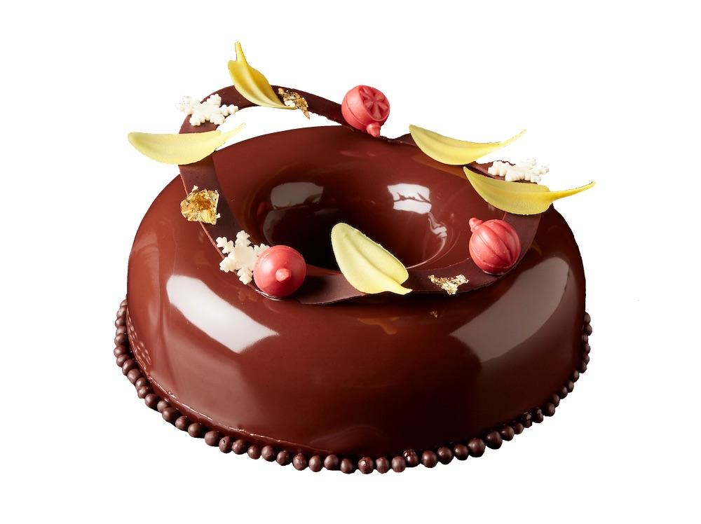「チョコレートリース」(約∅17.5×H5cm)¥6,500
