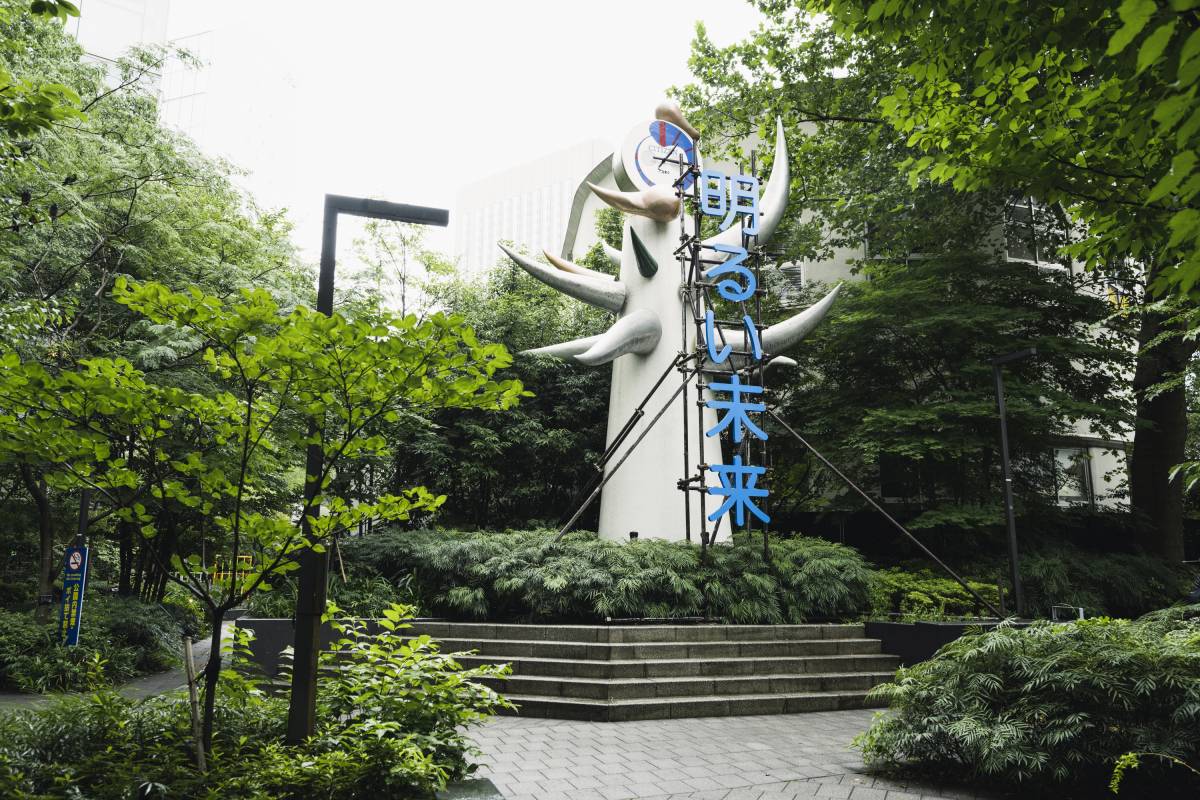 太湯雅晴《The Monument for The Bright Future TOKYO / 2021》(2021)