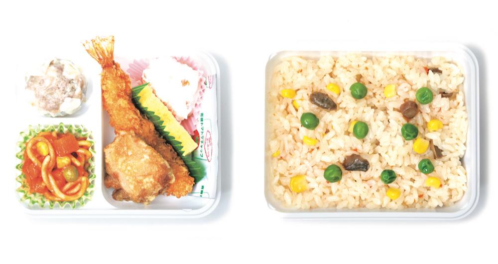 「崎陽軒」の「彩食小箱 洋風」¥791