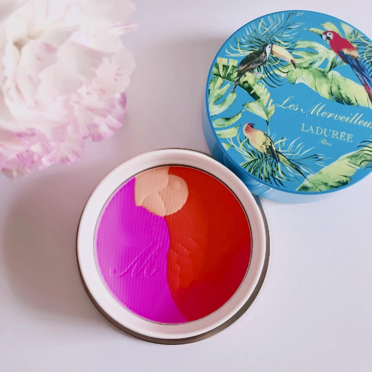 ちなみにパイナップルの香りです。ミックスド チークカラー 101 Amoureux ¥4,800*4月26日限定発売(レ・メルヴェイユーズ ラデュレ)