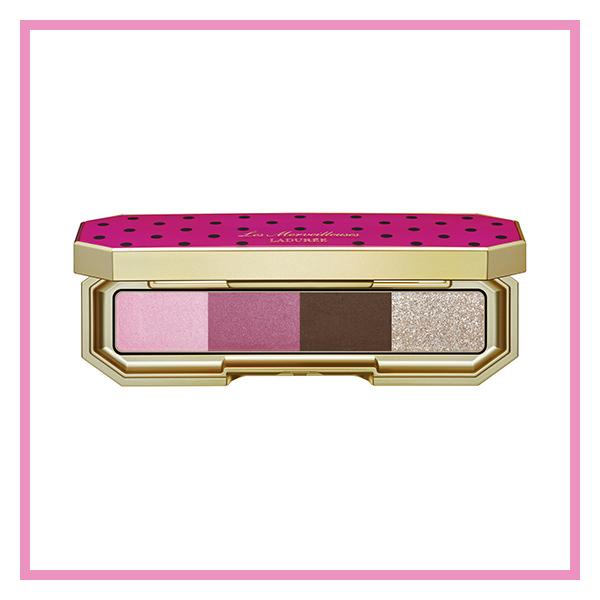 【EYE SHADOW】レディな華やかさに強さも感じる、光沢を抑えた濃密ピンク