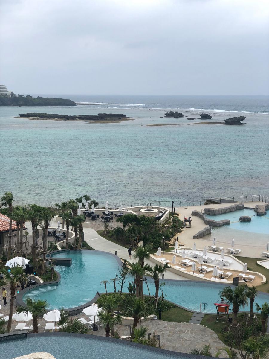 ホテルの目の前は海と言う絶好のロケーション
