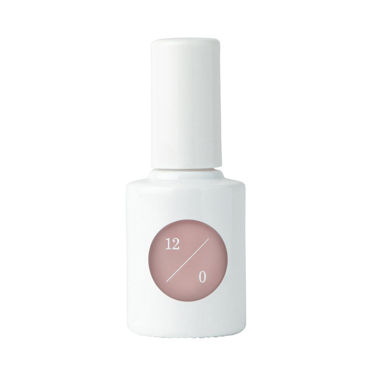 イノセントな印象の、グレーニュアンスのホワイトピンク