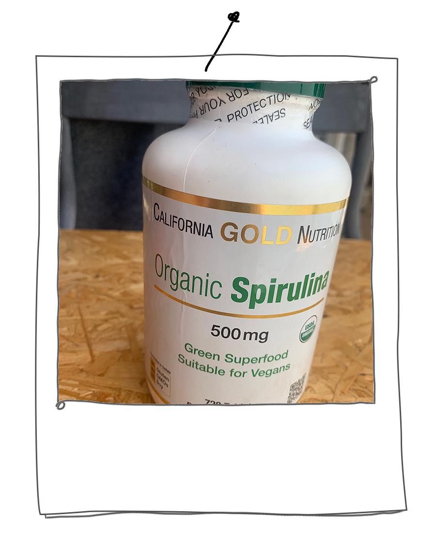 栄養価の高いスーパーフード、スピルリナも毎日