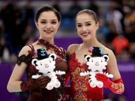 ザギトワ&メドベージェワの、ノーブルでキャッチーなメイクを真似したい! #PyeongChang2018 #オリンピック #深夜のこっそり話 #953