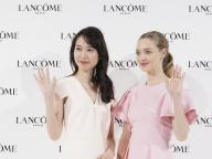 アマンダ・サイフリッドと戸田恵梨香が、ランコムの新製品発表会で美の共演!