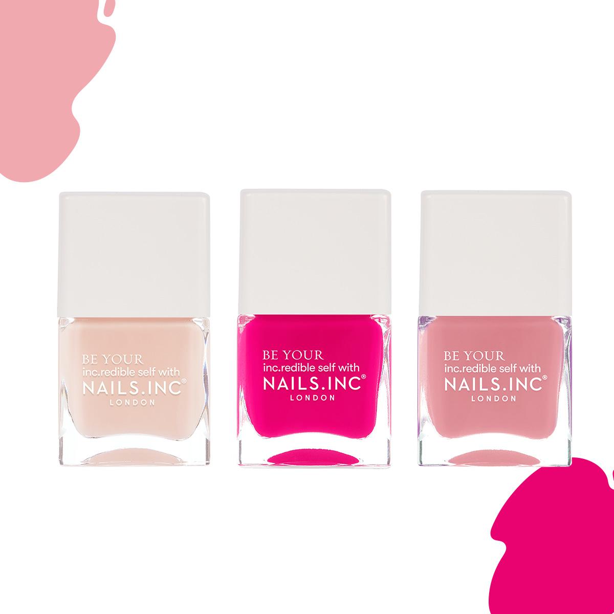 儚げ、しなやか、エネルギッシュと、多彩なピンク