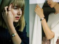 女の記念日に、腕時計を