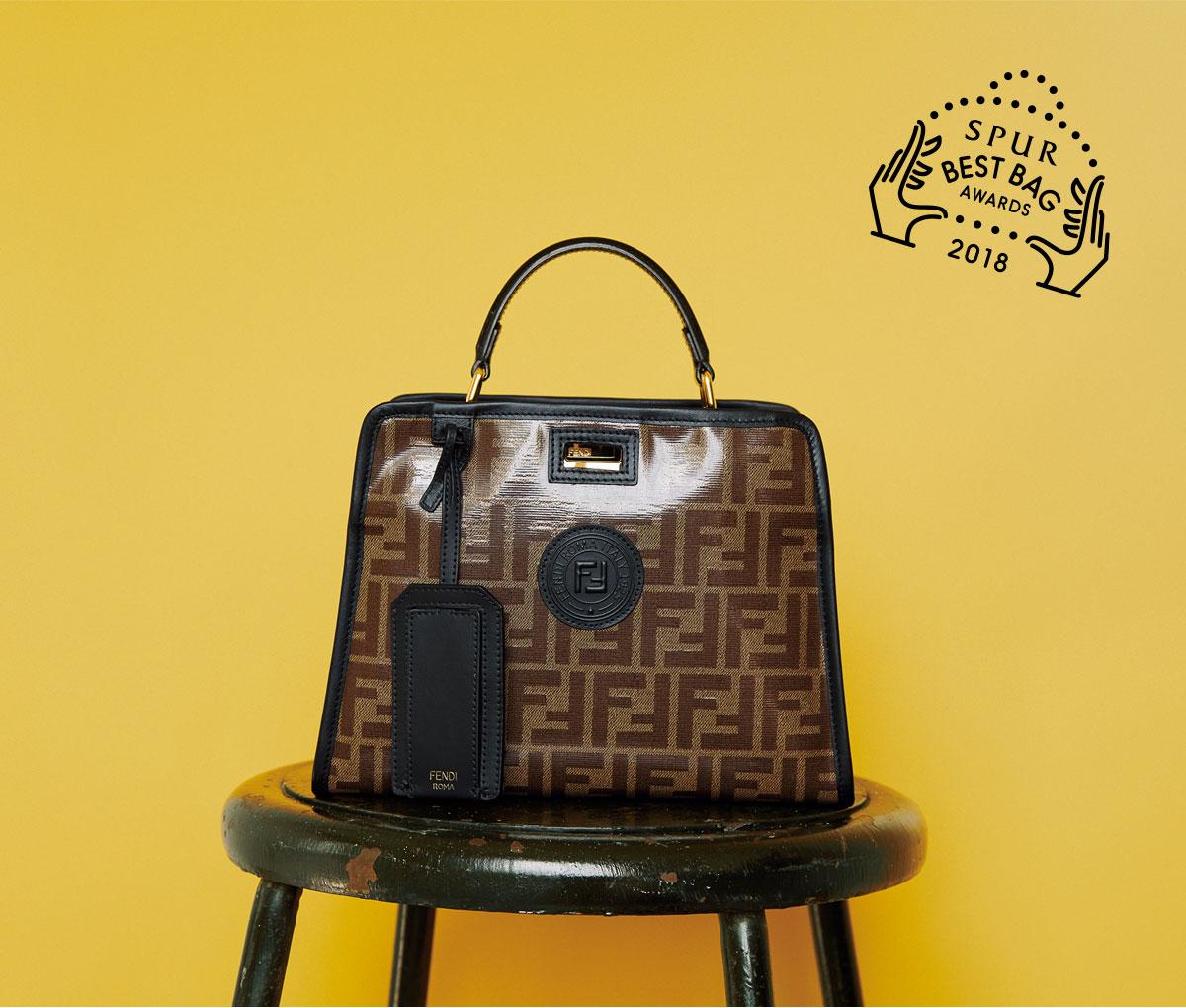 バッグ〈H18×W23×D11〉(ストラップつき)¥453,000/フェンディ ジャパン(フェンディ)