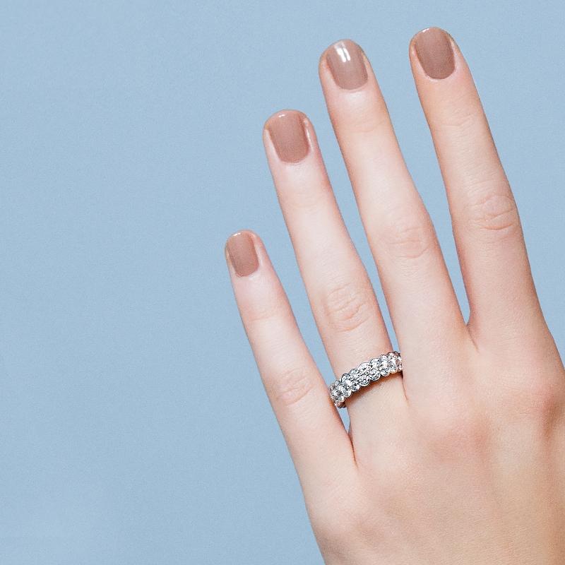 """""""クーデクラ ドゥ カルティエ""""リング〈WG、ダイヤモンド〉¥1,980,000/カルティエ"""