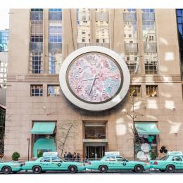 NYがブルーに染まった、『ティファニー ペーパーフラワー』ローンチイベント