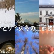 冬にしかできない旅がある。ひとりっぷ三都物語〜津軽・奥入瀬・八ヶ岳〜