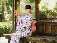 欅坂46 長濱ねるさんが浴衣姿でSPUR初登場