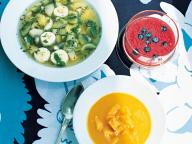 フルーツスープ3種 - 今月のスープ | vol. 06