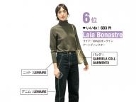 6位:Laia Bonastre(ライア/MANGOオンライン アートディレクター)