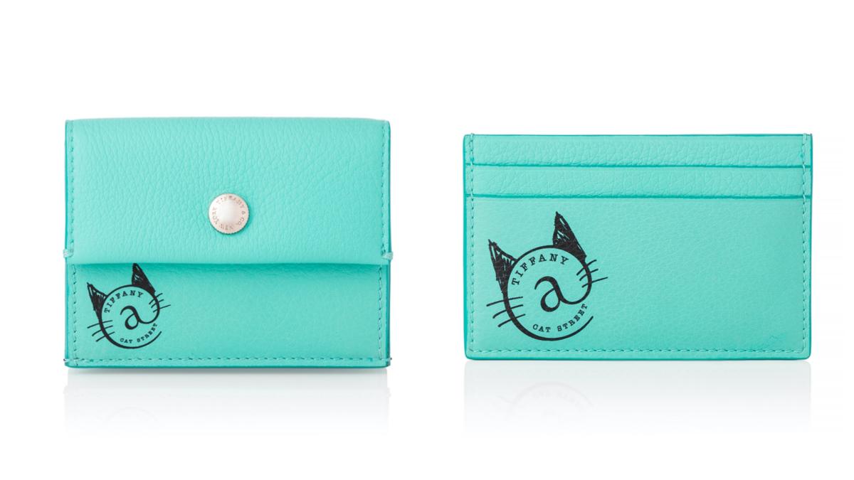 コイン ポーチ ¥36,500/ティファニー・アンド・カンパニー・ジャパン・インク カード ケース ¥24,500/ティファニー・アンド・カンパニー・ジャパン・インク