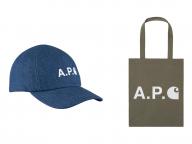 A.P.C.とカーハート WIPが5度目のコラボレーション! 新作カプセルコレクションを展開中