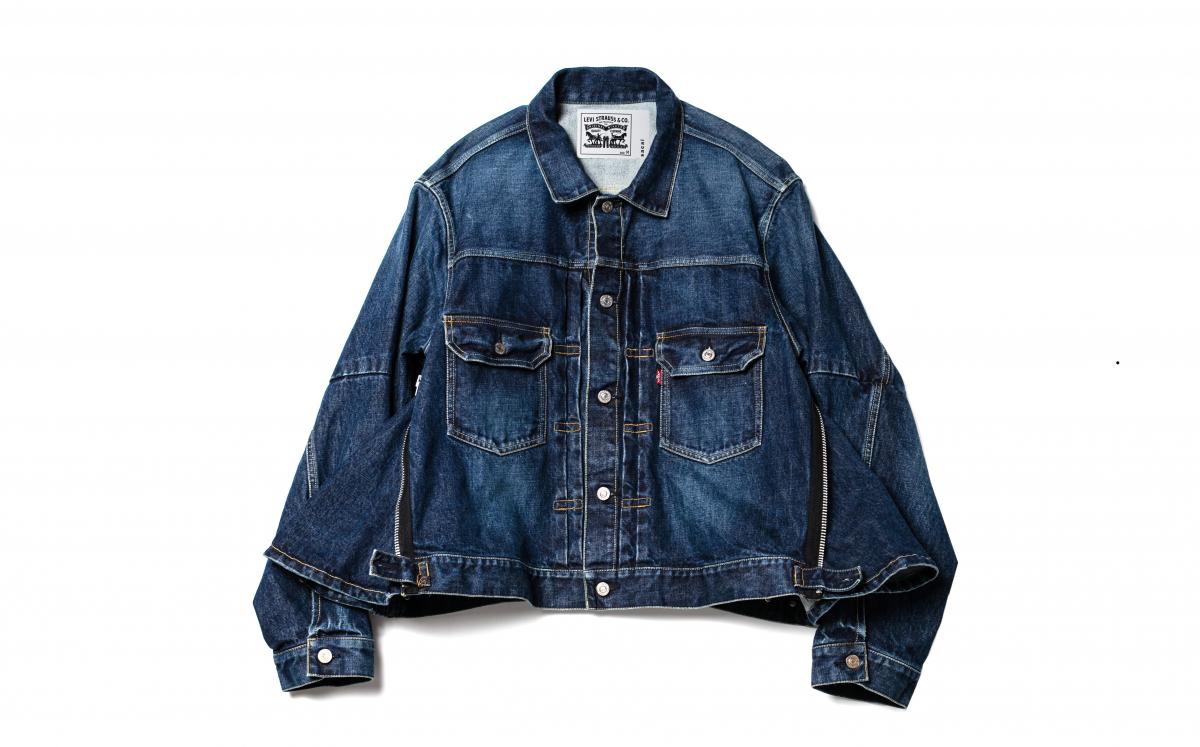 ジャケット¥53,000(ブルー)・¥63,000(ライトブルー)(税抜き)