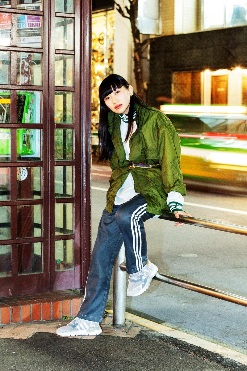スニーカー「ナイト ジョガー ブースト」¥16,000/アディダスグループお客様窓口(アディダス オリジナルス)