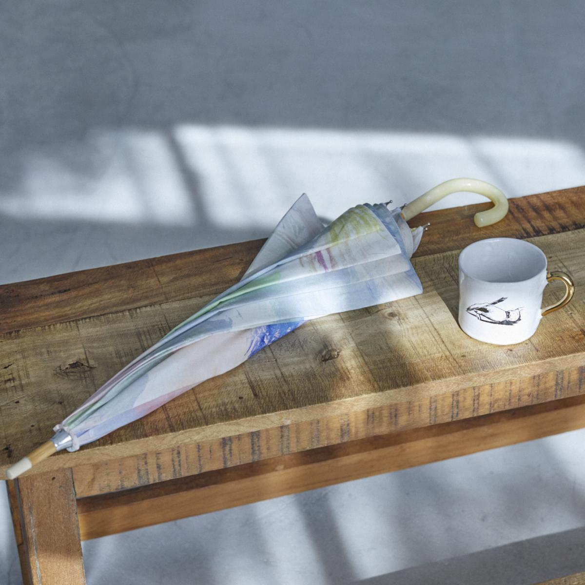 野村由芽さんが選んだギフト》 H.P.DECO アート感のある暮らし 「Kuhn Keramik ミディアムコーヒーカップ」 Coci la elle「雨傘」