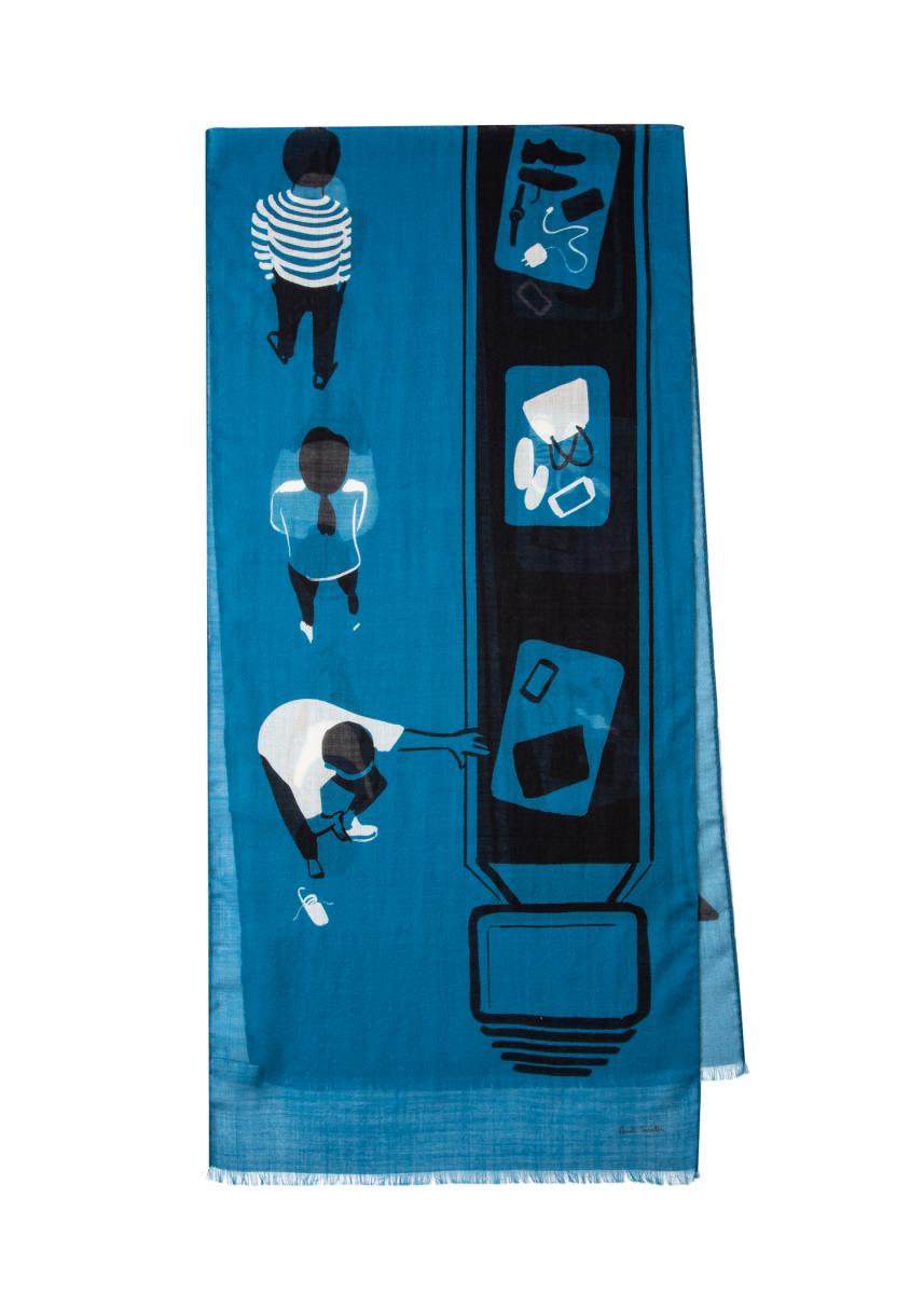 メンズロングスカーフ ¥16,000/ポール・スミス リミテッド