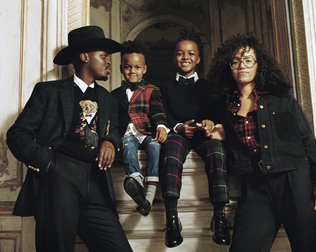 フィリップ・ブレッドとその家族